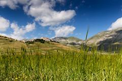 Castelluccio di Norcia (P) Tags: norcia italia castelluccio italy landscape umbria paesaggio luglio sibillini monti