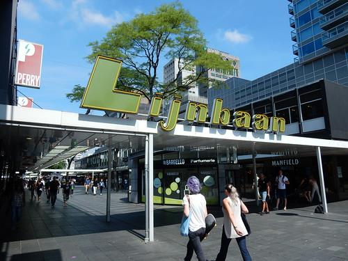 Lijnbaan shopping centre Rotterdam