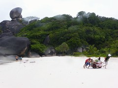 Similan Island, Thailand (Jan-2016) 20-019 (MistyTree Adventures) Tags: seasia thailand outdoor mukosimilannp panasoniclumix similanisland beach people whitesand rocks trees