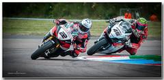 Jason O Halloran Honda and Tommy Bridewell Suzuki (jdl1963) Tags: british superbike championship thruxton motorbike motorcycle racing jason o halloran honda tommy bridewell suzuki