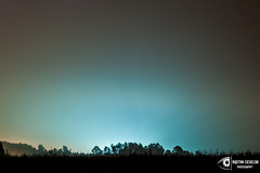 City glow (Kajetan Ciesielski) Tags: fog glow city night light outdoor