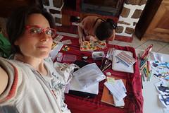 sance ddicace vue d'en haut (redjoshuameg) Tags: selfportrait 20160609 with ddicace mariepoirier vudenhaut livre