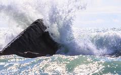 breaking (Francis Mansell) Tags: water wave breakingwave seashore rock sandymouth cornwall outdoor