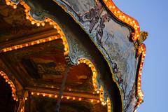 Wonder carrousel (Iversaur) Tags: tibidabo barcelona bcn 50mm amusement park carrousel vintage