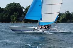 DSCF4551 (cmpbllrb) Tags: catamaran dart18 stlawrenceriver gananoque 1000islands fujifilmxa1