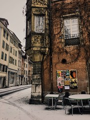 Old town Biel-Bienne Mobilephotography IPhoneography Iphoneonly VSCO Cam Eye For Photography Eye4photography  Streetphotography Streetphoto_color Snow Covered (Gioja Valentina) Tags: mobilephotography iphoneography iphoneonly vscocam eyeforphotography eye4photography streetphotography streetphotocolor snowcovered