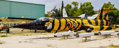 Hellenic Starfighters (joseluiscel (Aviapics)) Tags: hafmuseumtatoiathens hellenicairforce greece lockhhed f104 starfighter