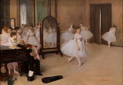 Edgar Degas, The Dancing Class, ca. 1870 (Sharon Mollerus) Tags: metropolitanmuseumofart newyork unitedstates cfp16