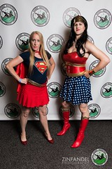 Superpowered Duo (Vera Wylde) Tags: vtcomiccon comiccon wonder woman vera wylde vermont burlington cosplay crossplay cross dress dresser dressing play crossdress crossdresser crossdressing drag queen genderfluid cd tv transgirl tgirl tgurl supergirl