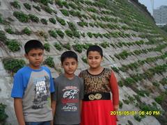 Miel Medha and Manon at Hatir Jheel Dhaka Bangladesh6 (Mithu Hassan) Tags: family personal picture dhaka bangladesh hatirjheel