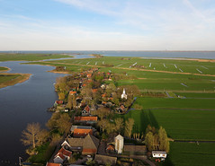 Holysloot Waterland (3) (de kist) Tags: netherlands aerial kap waterland holysloot