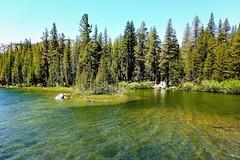 Lake Mamie, Mammoth Lakes, California  (Explore  May 31, 2015 #135) (Joe Lach) Tags: california trees lake water landscape outdoor alpine pines mammoth mammothlakes sierranevada inyonationalforest lakemamie waterpictorial joelach