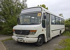 Rambler Coaches of Hastings, S775BLG (Gerry A Powell) Tags: bus coach beaver mercedesbenz hastings cardigan plaxton richardsbros o814 ramblercoaches s775blg