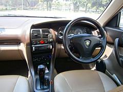 2004 Proton Waja 1.6 AT (ENH) in Ipoh, MY (30, Interior) (Aero7MY) Tags: 2004 car sedan malaysia 16 saloon ipoh enhanced proton enh waja 16l 4door impian at 4g18
