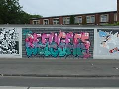 Weienburger Strae (8) (mkorsakov) Tags: wall graffiti wand colored dortmund bunt nordstadt auftrag borsigplatz weissenburgerstrasse