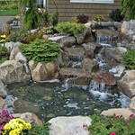 "Relaxing Water Feature by Greenhaven Landscape <a style=""margin-left:10px; font-size:0.8em;"" href=""http://www.flickr.com/photos/117326093@N05/18297105156/"" target=""_blank"">@flickr</a>"
