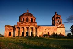 Tatarstan_017 (anla0070) Tags: travel sunset church june ruins village russia 2015 tatarstan autotravel maslovka