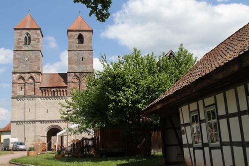 Kloster Veßra am 03.06.2015