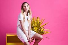 Beach&Country | Vero 2017 (Ariana Eble) Tags: color studio estudio yellow pink orange model nicoli furst canon brazil brasil vero summer ss17 photoshoot