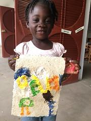 Mechiseda chresionger (Haiti Partners) Tags: haiti entrepreneurship socialbusiness childrensacademy july 2016 papermaking