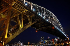 Sydney Harbour Bridge (Seor Bz [Insta: _flying.solo_ ]) Tags: sydney harbour bridge milsons point opera house night evening