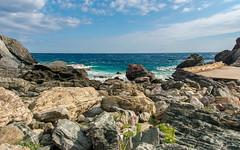 Rocky Sea... (Photo_hobbyist) Tags: sea clouds greece skopelos seascape island