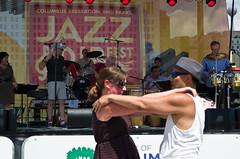 Let's dance (ramseybuckeye) Tags: columbus jazz rib fest festival ribs band stage dance dancing couple pentax life
