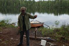 La chance du dbutant (Samuel Raison) Tags: nature finland reindeer mouse fishing nikon mice barbecue pike souris barque renne pche finlande brochet nikond2xs nikond3 nikon41635mmafsgvr