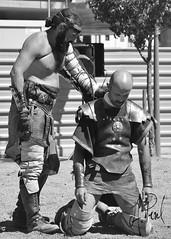 Gladiador 04 (A.Peral) Tags: bw blanco festival circo negro romano arena gladiator dies gipuzkoa irun biga gladius bidasoa oiasso oiassonis gladirador