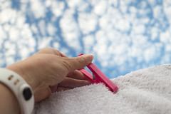 192-365 Pegged it ! - Explored :-) (NSJW photos) Tags: me clouds hand july fluffy towel explore wash hanging peg washing 192 selfie washingline 2016 selfies 192365 365selfies nsjwphotos 1923652016