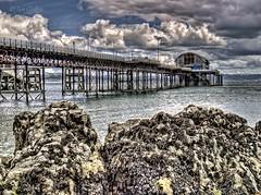 Mumbles Pier (Explored) (Ian Gedge) Tags: uk britain wales mumbles pier rocks coast sea seaside cymru