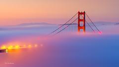 Morning fog (davidyuweb) Tags: morning fog sfist luckysnapshot glowing san francisco golden gate bridge