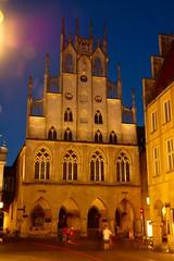 Rathaus des westphlischen FriedensMnster (Thilo Thomasson) Tags: townhall mnster rathaus dawn lantern architecture germany mnsterland nikon council