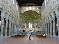 Ravenna, Sant' Apollinare in Classe (Truus, Bob & Jan too!) Tags: italy itali santapollinareinclasse ravenna church basilica monument classe