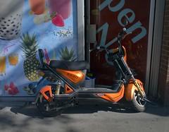 Emmo (geowelch) Tags: toronto chinatown urbanfragments scooter panasoniclumixgx1 olympus17mmf28