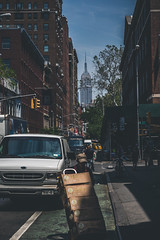 In the Village (Piotr_PopUp) Tags: street nyc newyorkcity usa vertical us village manhattan candid washingtonsquarepark streetphotography esb empirestatebuilding cinematic greenwhich greenwichvillage macdougalstreet w3rdstreet