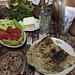 Dinner at the home of a Goris bread maker