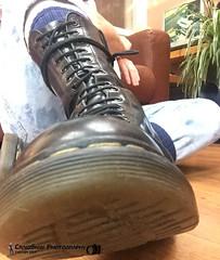 Skinhead Dr Marten Boots (Scally Skin - Love skins Love Scally) Tags: drmartenboots skinhead boots levis 501 levis501 bluebraces bootsandbraces craigskin braces skinheads levisjeans