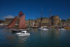 Majestueuse Hermione (brume2mer) Tags: bretagne brest finistre grment mer navigation voilier voile bzh sailing
