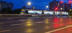 P7290026_v1 (jakubste) Tags: krakow cracow city night traffic
