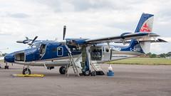 C-GVKI (Al Henderson) Tags: 400 airport aviation bedfordshire cgvki cfd cranfield dhc dhc6 dehavillandcanada demonstrator egtc twinotter vikingair england unitedkingdom gb