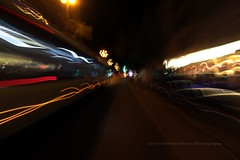 201/366 - As faster as you can... (Sinuh Bravo Photography) Tags: longexposure colors canon lightstream ayearinphotos eos7d nighthshot potd2016