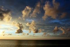 clouds showing off (1) (kexi) Tags: sky clouds shapes horizon sea water sunset jastrzebiagora balticsea poland polonia pologne polen polska calm tranquility canon june 2015 instantfave