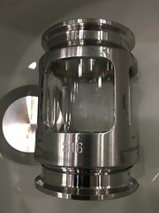Sight glass in bowl (jasonwoodhead23) Tags: piping brewing dairy sanitary bowl glass sight water steel stainless