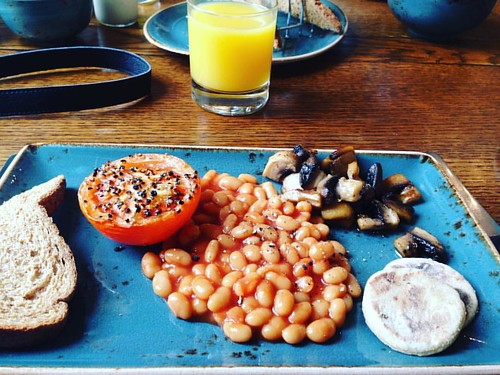 Another #breakfast of #champions #vegan