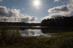 Sunny morning (KevPBur) Tags: canon650d canonkissx6i canonrebelt4i canonefs18135mmf3556isstm finland suomi clouds lensflare reflection sea shadow sunstar water canon650dcanonkissx6icanonrebelt4i