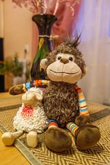 Monkey (VX_GAS) Tags: toys monkey   sony rx100