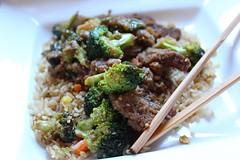 Beef-Not & Broccoli with Stir Fry Rice (Vegan Feast Catering) Tags: broccoli seitan sauce sesame ginger garlic tamari saltandpepper ouistersauce asian rice veggies vegan catering