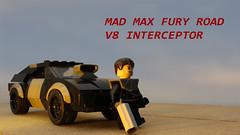 Mad Max Fury Road, V8 Interceptor (with instructions) (hachiroku24) Tags: mad max fury road v8 interceptor instructions last lego toy creation moc afol car vehicle