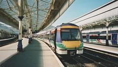 170 414 Aberdeen 2004 (captaindeltic55) Tags: dmu dieseltrain dieselunit train trains railway railways nationalexpress nationalexpressscotrail scotrail aberdeenrailwaystation aberdeen aberdeenstation passengertrain commutertrain publictransport class170 170414 turbostar